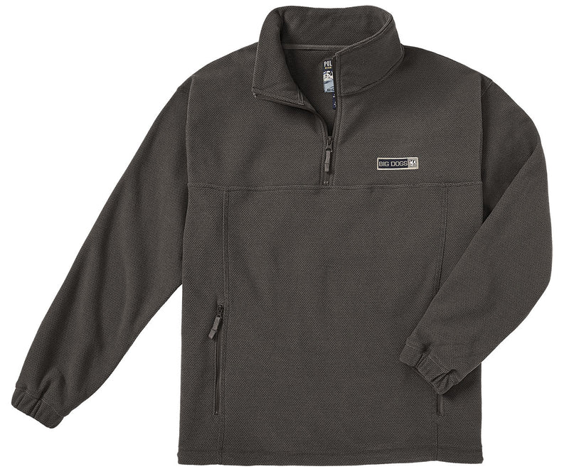 Textured Polar Dogs® Half Zip