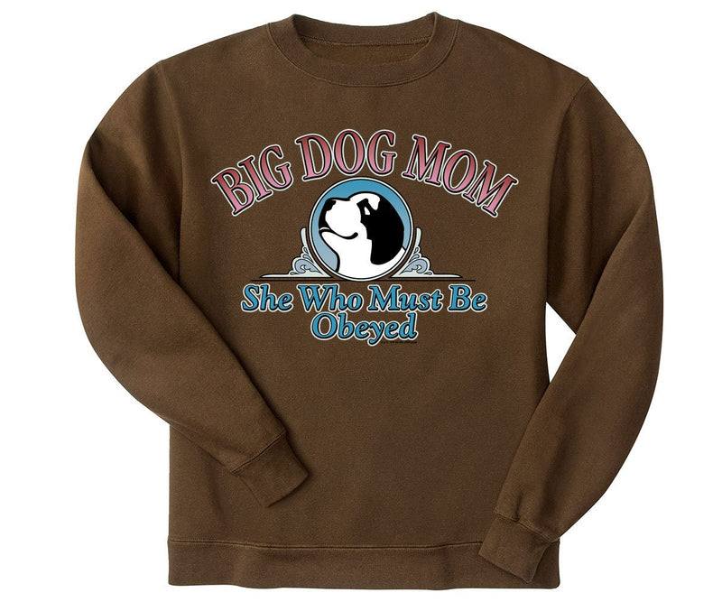 Big Dog Mom Obeyed Graphic Crew