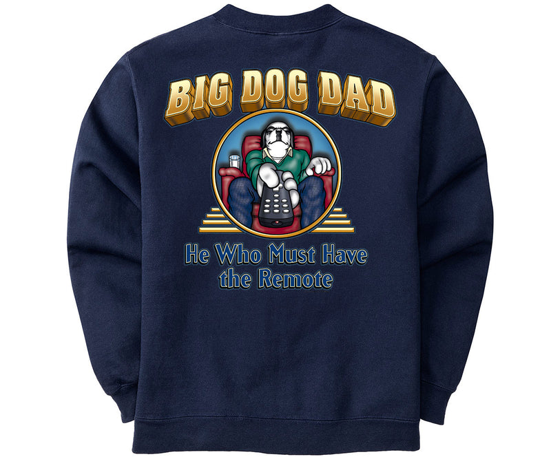 Big Dog Dad Remote Graphic Crew