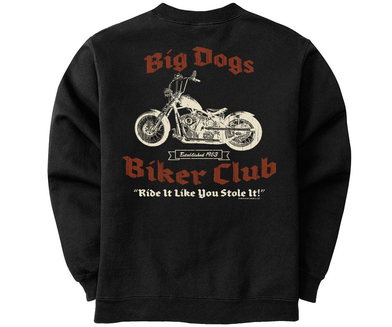 Big Dog Biker Club Graphic Crew