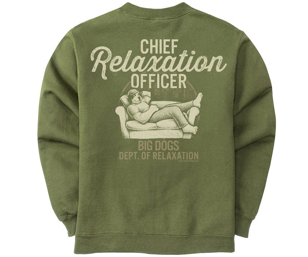 Chief Relaxation Officer Graphic Crew