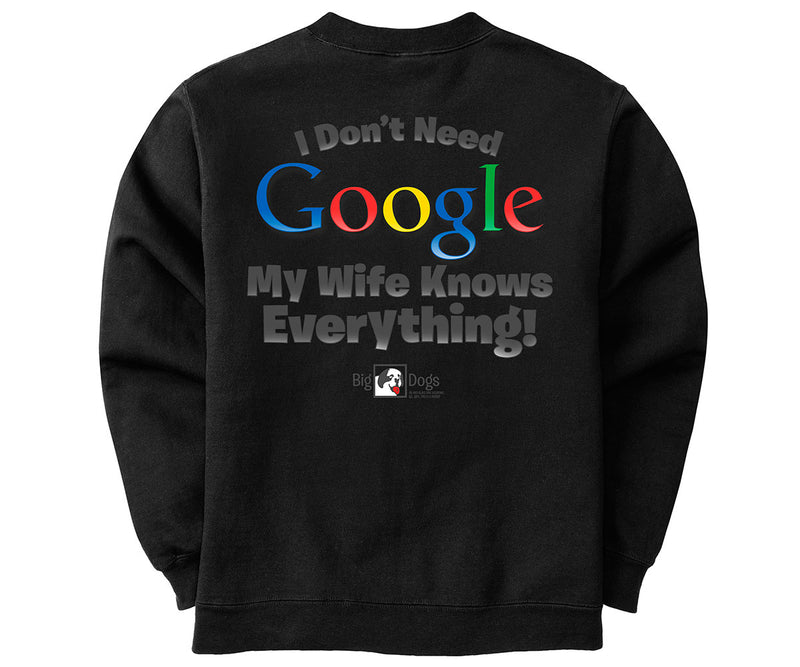 I Don't Need Google Graphic Crew