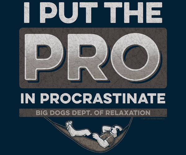 Procrastinate Graphic Crew