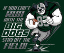 Run With The Big Dogs Football Graphic Crew