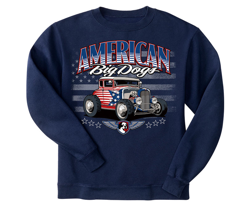 All American Hot Rod Graphic Crew