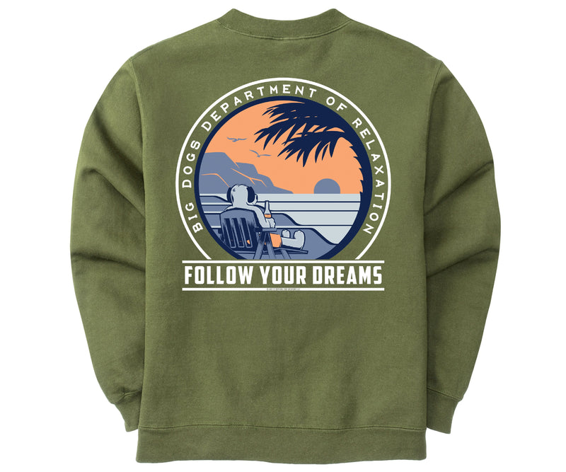 Follow Your Dreams Graphic Crew
