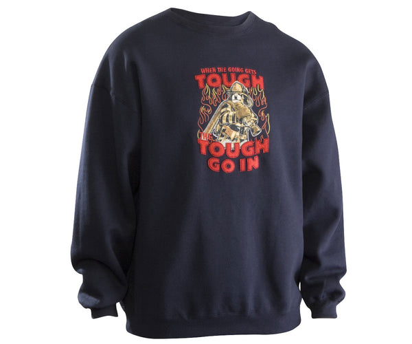 Tough Go in Fireman Sweatshirt