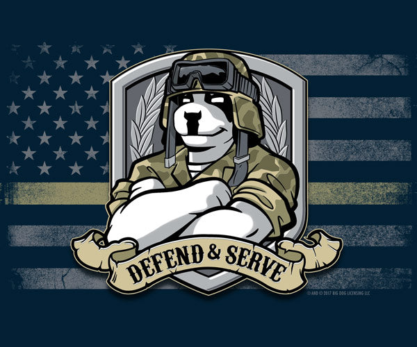 Defend and Serve Graphic Crew