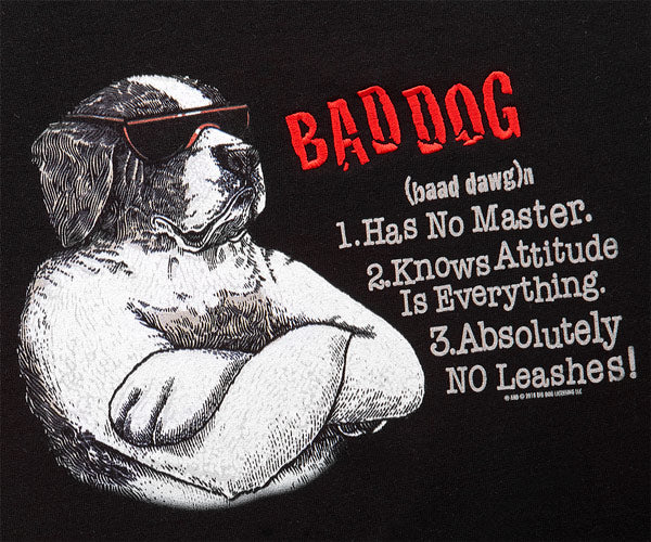 Bad Dog Defined Gold Medal Crew