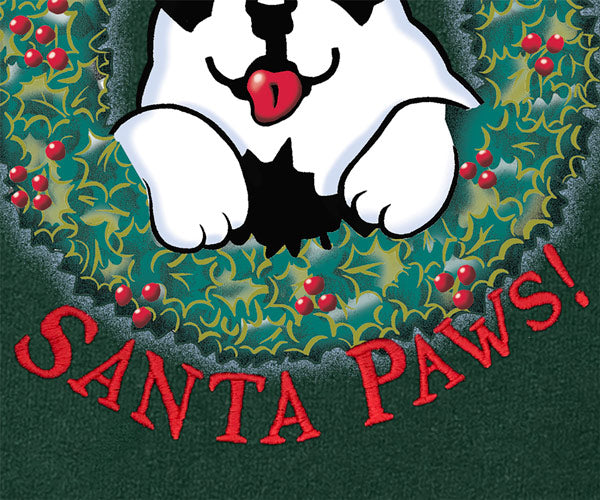 Here Comes Santa Paws Gold Medal Crew