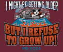 Refuse To Grow Up Graphic Crew