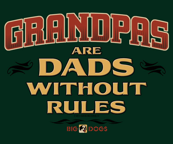 Grandpa Rules Graphic Crew