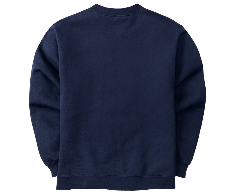 Classic Patch Crew Fleece Navy