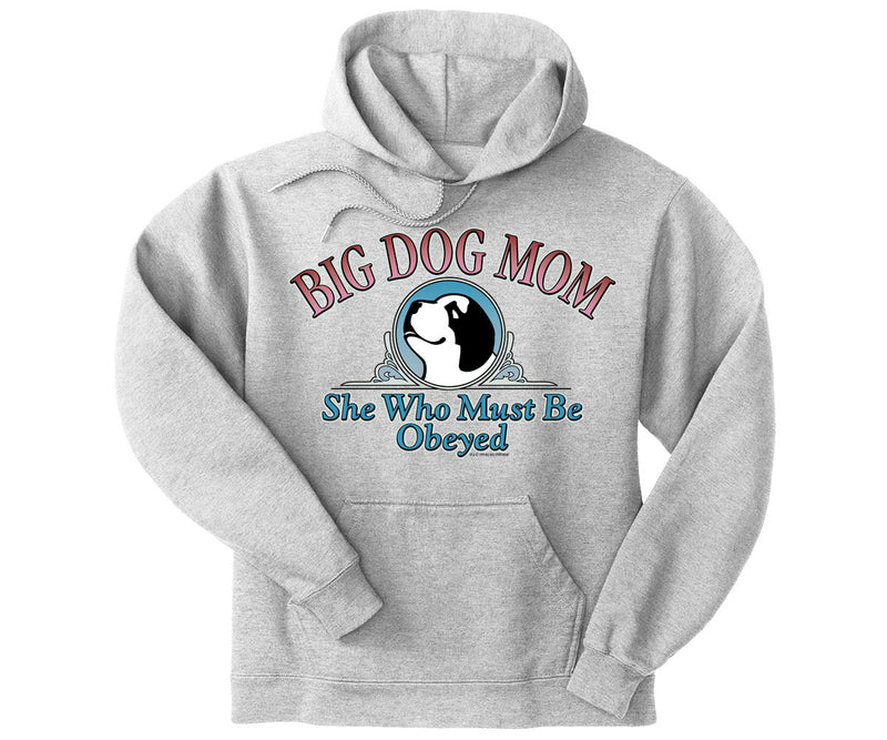 Big Dog Mom Obeyed Graphic Hoodie
