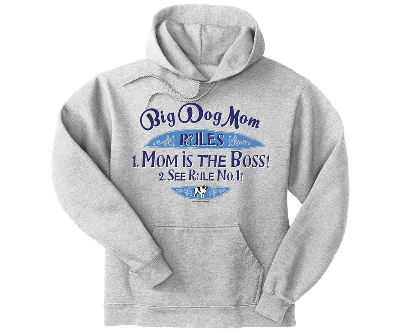 Big Dog Mom Rule Graphic Hoodie