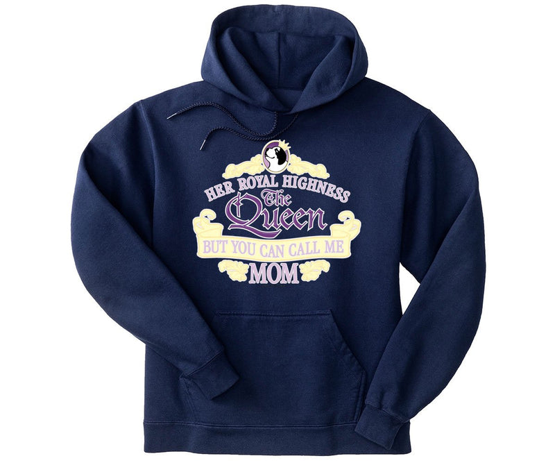 The Queen Mom Graphic Hoodie