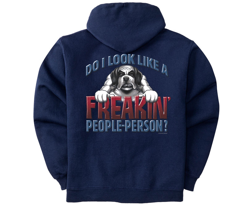 Freakin' People Person Graphic Hoodie