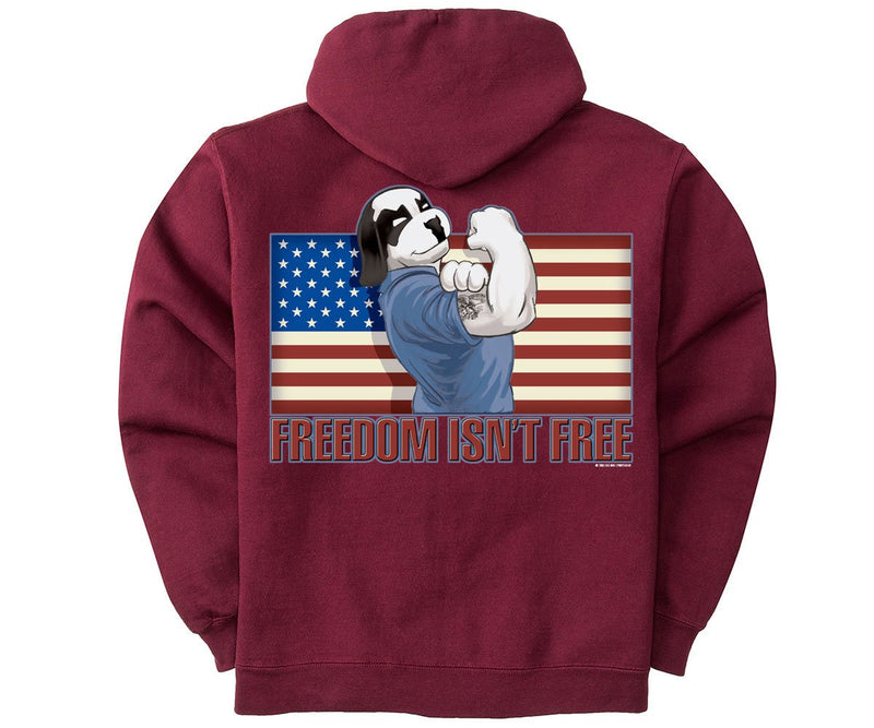 Freedom Isn't Free Graphic Hoodie