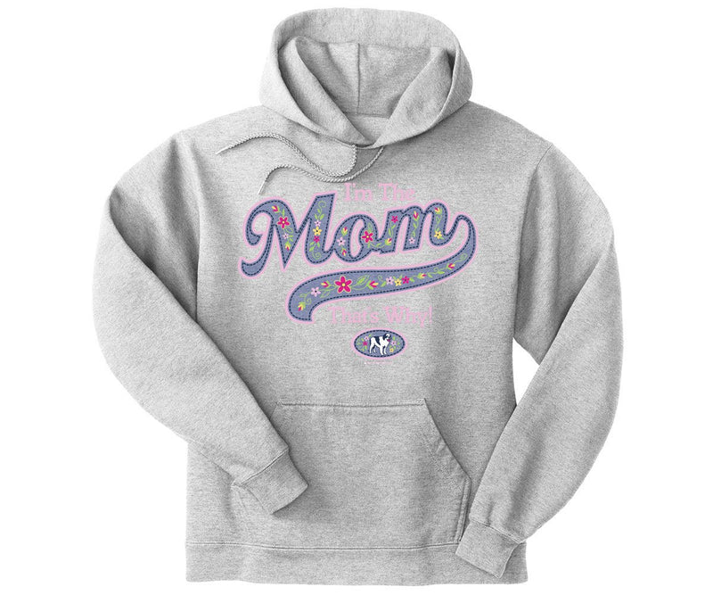 I'm The Mom Graphic Hoodie