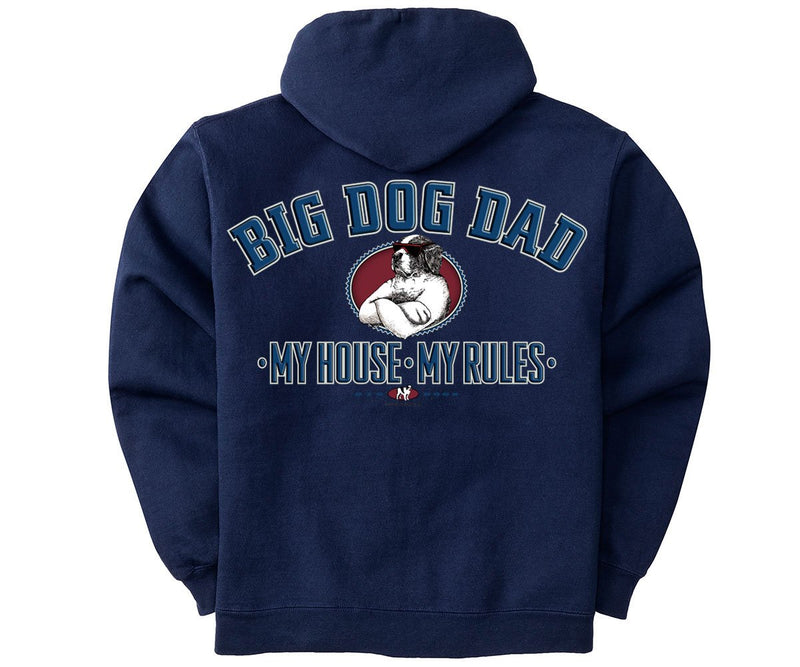 Big Dog Dad Graphic Hoodie