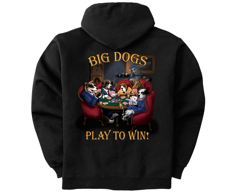 Play To Win Poker Graphic Hoodie