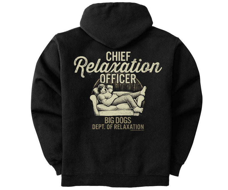 Chief Relaxation Officer Graphic Hoodie