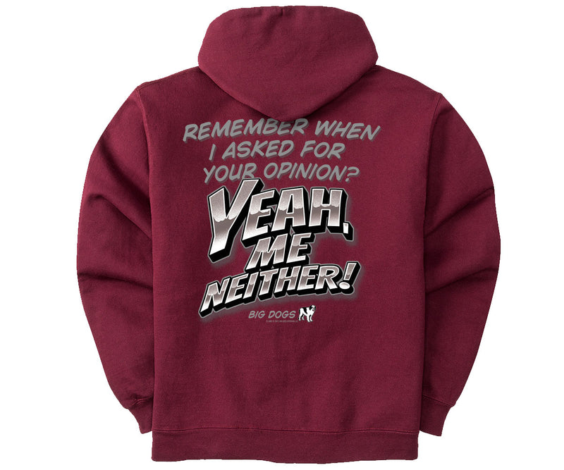 Yeah Me Neither Graphic Hoodie