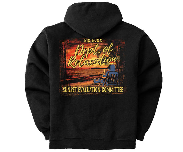 Sunset Evaluation Graphic Hoodie