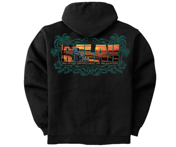 Just Relax Graphic Hoodie