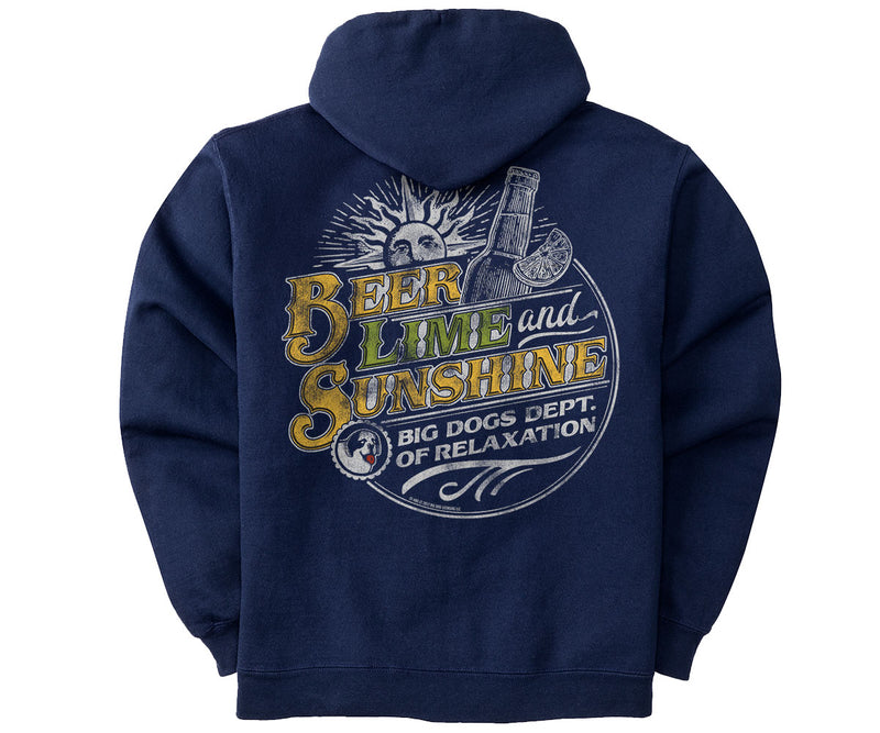 Beer Lime and Sunshine Graphic Hoodie