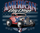 All American Hot Rod Graphic Hoodie