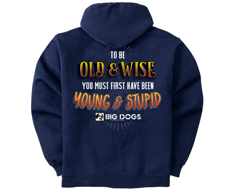Old and Wise Graphic Hoodie