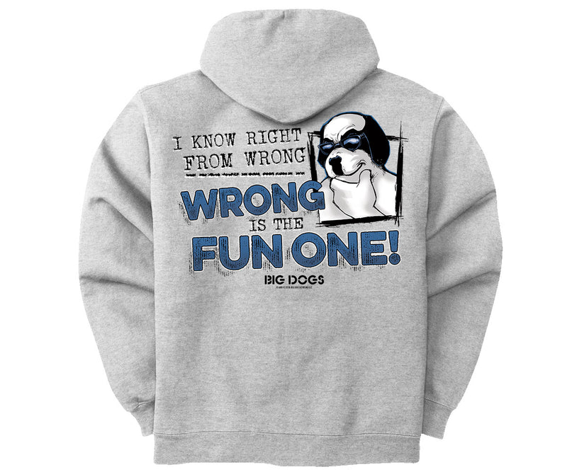 Right From Wrong Graphic Hoodie