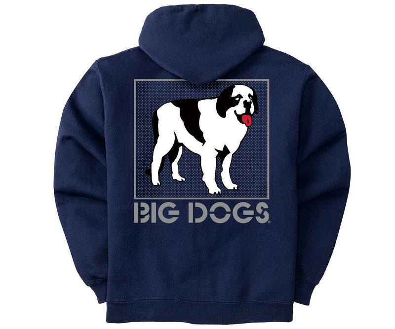 Standing Dog Logo Graphic Hoodie