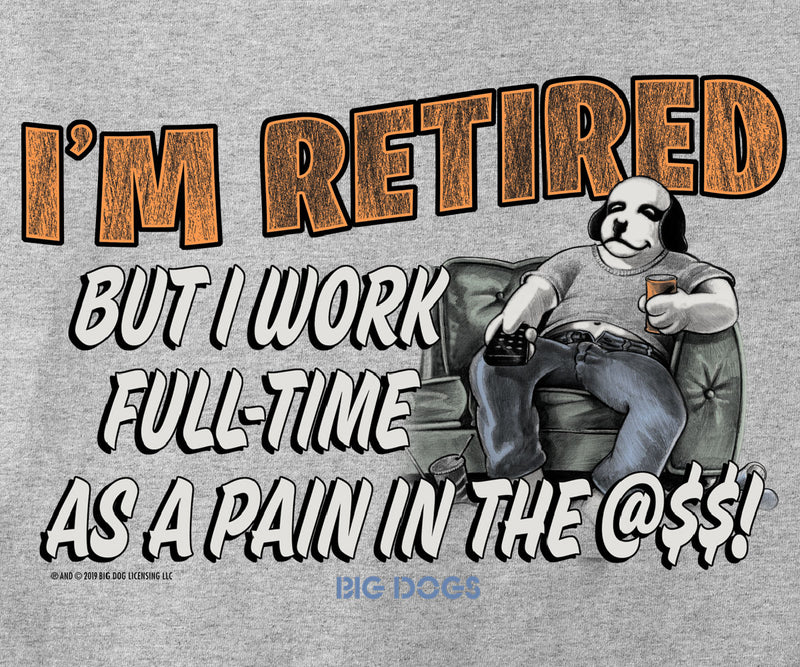 I'm Retired Graphic Hoodie