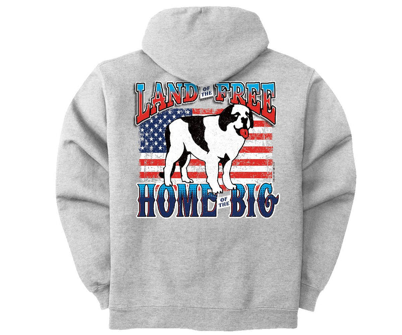 Land of the Big Graphic Hoodie