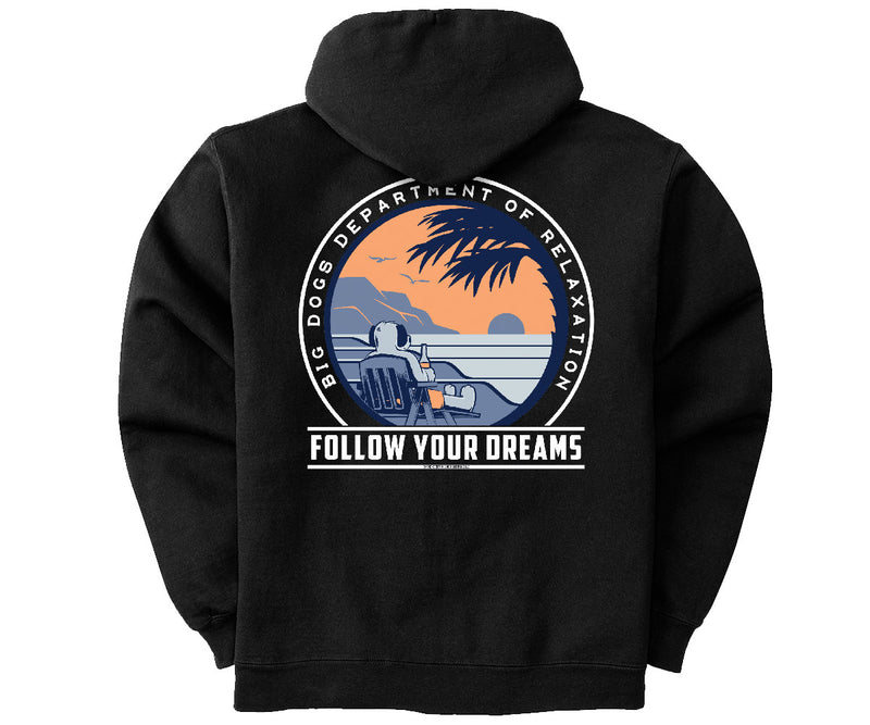 Follow Your Dreams Graphic Hoodie