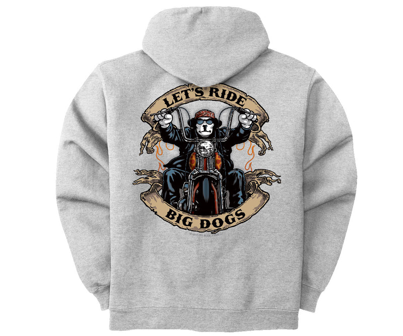 Let's Ride Graphic Hoodie
