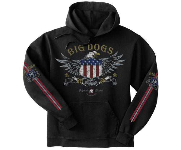 Eagle Shield Gold Medal Hoodie