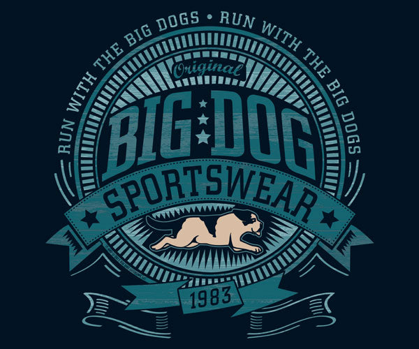 Run With The Big Dogs Gold Medal Hoodie