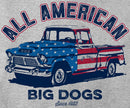 All American Truck Graphic Hoodie