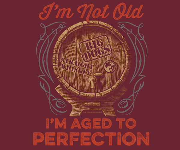 Aged To Perfection Graphic Hoodie