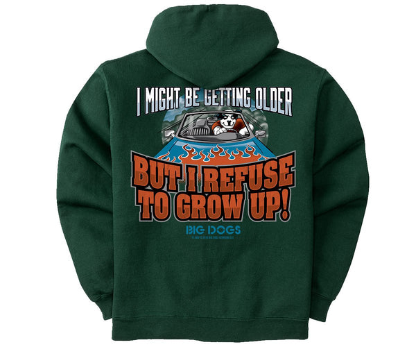 Refuse To Grow Up Graphic Hoodie
