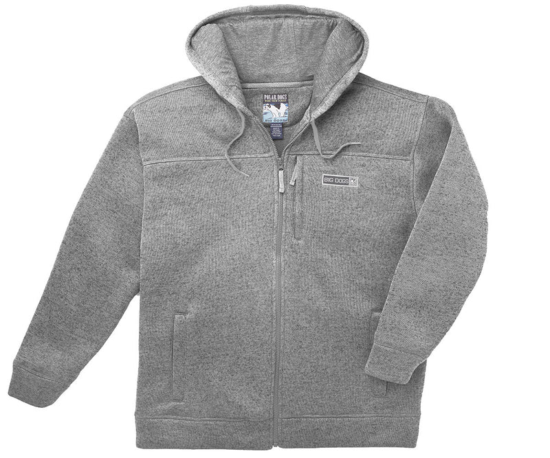 Berber Polar Fleece Full Zip Hoodie