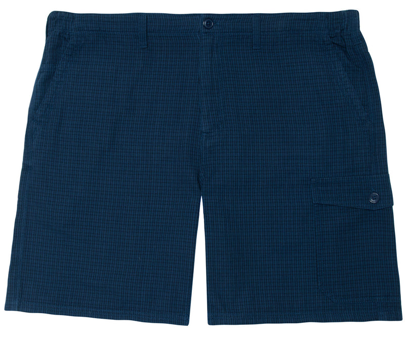 Checkered Cargo Short