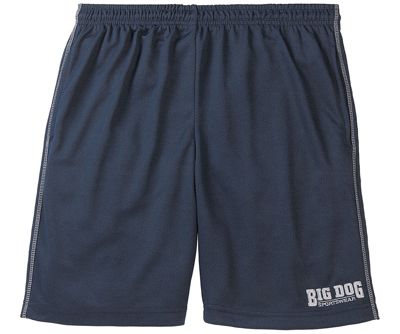 Poly Mesh Athletic Short