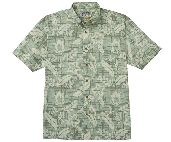 Aloha Vine Cotton Shirt
