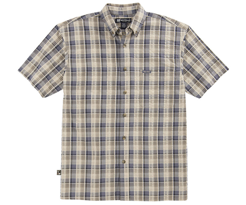 Textured Madras Shirt