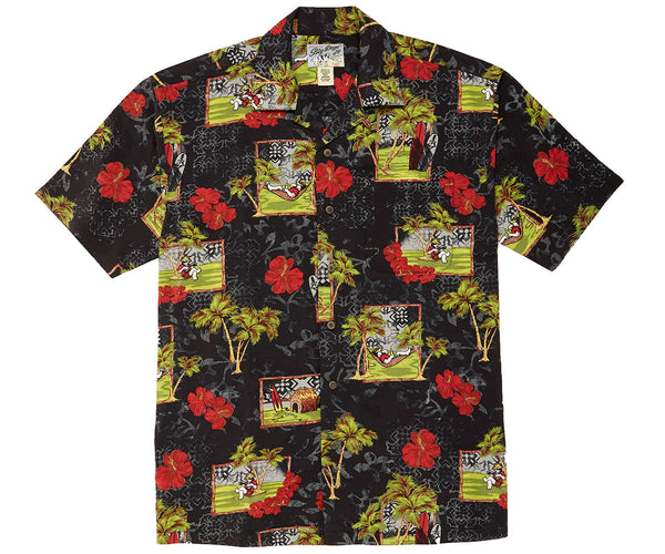 Department of Relaxation Windows Rayon Shirt