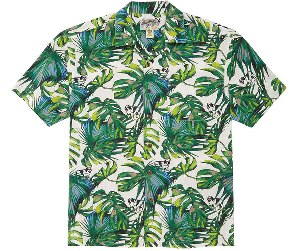 Tropical Logo Rayon Shirt
